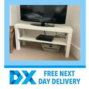 Ikea Lack Tv Bench Table Wood Stand Plasma Lcd Led Bed Sitting Room White Ebay