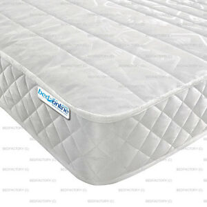 Image Is Loading Budget Mattress Micro Qlt 2ft6 3ft Single 4ft