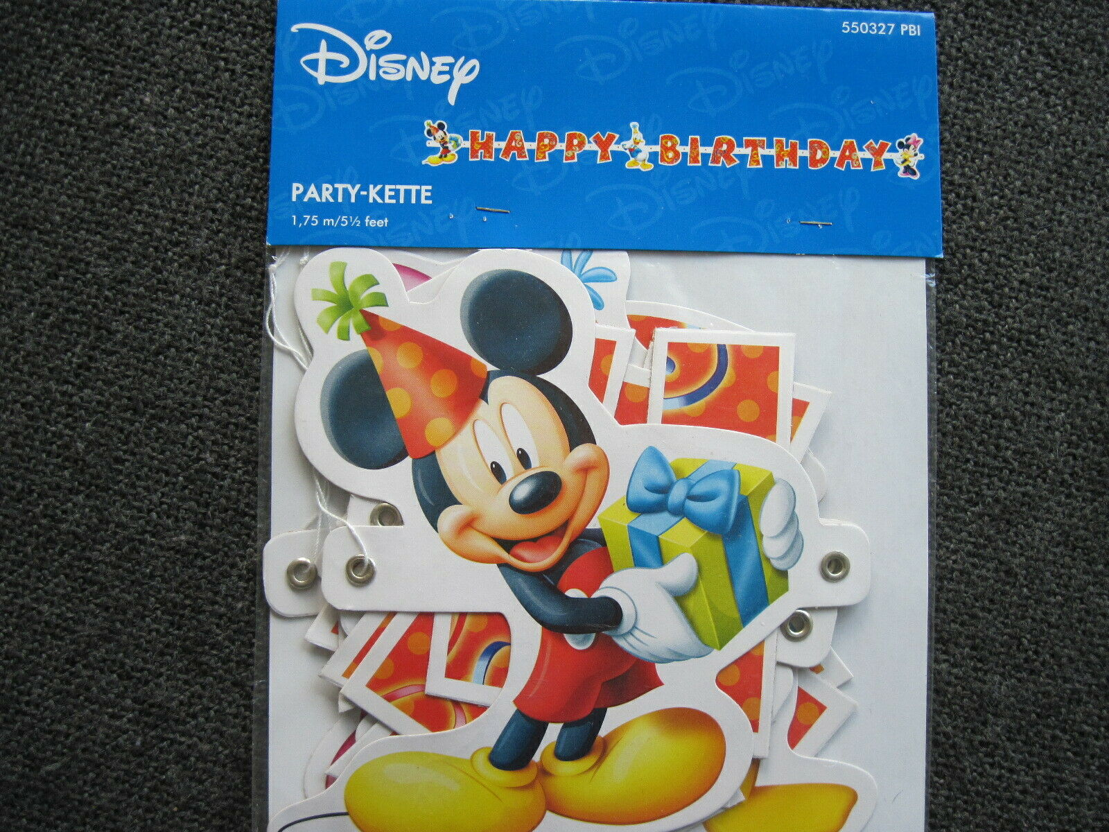 Mobel Wohnen 71cm Disney Micky Maus Prinzessin Happy Birthday Kindergeburtstag Defekt B Ware Ballons