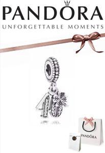 Pandora 40th Birthday Celebration Anniversary Dangle Charm Silver Box And Bag Ebay