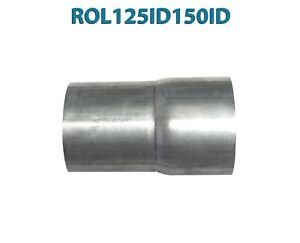 details about 1 1 4 1 25 id to 1 1 2 1 5 id universal exhaust pipe to pipe adapter reducer