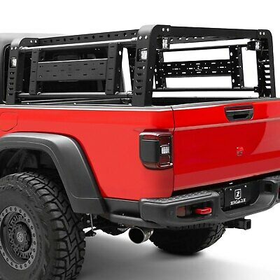 zroadz z834101 overland series truck bed rack fits 20 gladiator