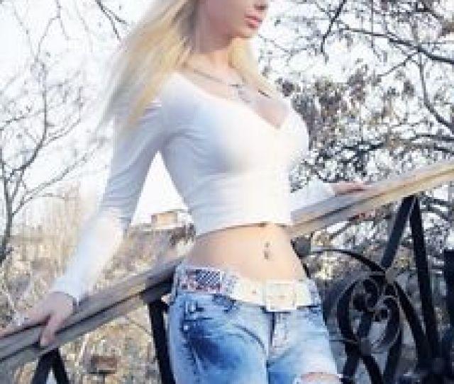 Image Is Loading Valeria Lukyanova 8x10 Photo Living Human Barbie Ukrainian
