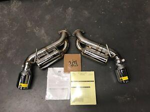 details zu infiniti 2017 2018 q60 oem sport helmholtz exhaust kit b0100 q60s2 in stock