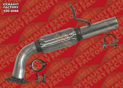 front exhaust flex pipe fits 2012 2015 ford explorer 2 0l turbocharged ebay
