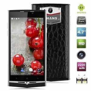 "UHANS U100 Smartphone 4G 64-bit Mobile Phone 4.7"" Android 5.1 2GB+16GB"