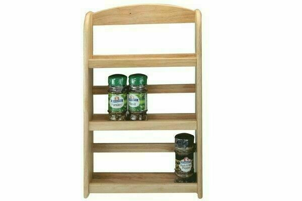 apollo 7518 rb 3 tier wooden spice rack for sale online ebay