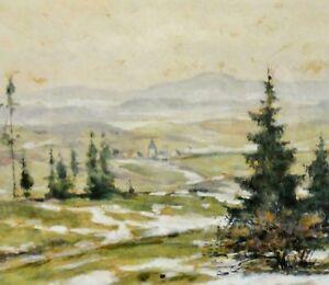 Autogramm Fritz Kohler 1887 1972 Auf Gluckwunschkarte Maler