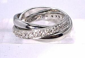 925 sterling silver russian wedding ring szs p q n t v w