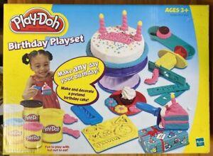 Play Doh Igrovoj Nabor Den Rozhdeniya Delayut I Ukrasit Pritvoritsya Imeninnyj Pirog 2003 Hasbro Novyj Ebay