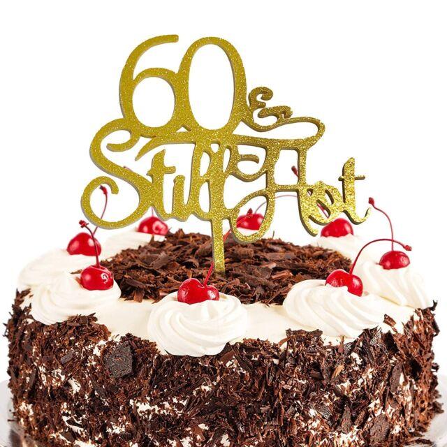 Jennygems 60th Birthday Cake Topper 60 Still Hot For Sale Online Ebay