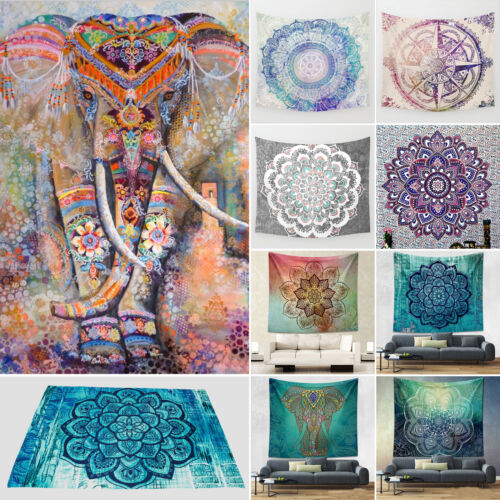 Large-Hippie-Tapestries-Indian-Bohemian-Mandala-Wall-Hanging-Elephant-Art-Throw