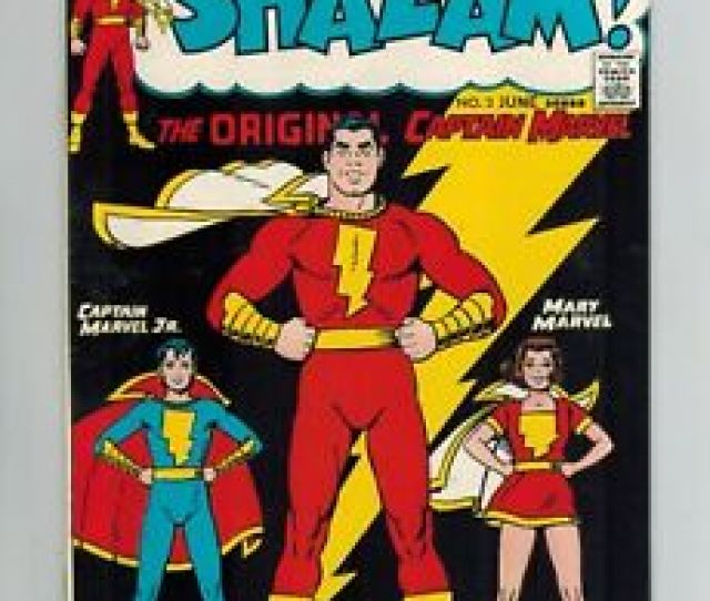 Image Is Loading Shazam  The Original Captain Marvel From