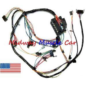 Dash wiring harness with fuse block 67 Chevy Camaro | eBay