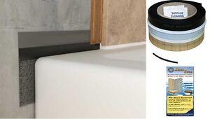 details about aquastrap shower tray seal tile upstand flexible sealux bath seal aqua strap