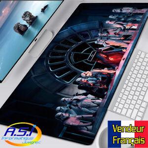 details sur tapis de souris star wars stormtrooper xxl grand format vendeur francais