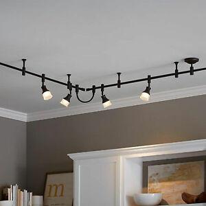 details about allen roth flexible track light lighting inline power connector dark bronze
