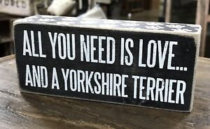 Download ALL YOU NEED IS LOVE... AND A YORKSHIRE TERRIER PBK Box ...