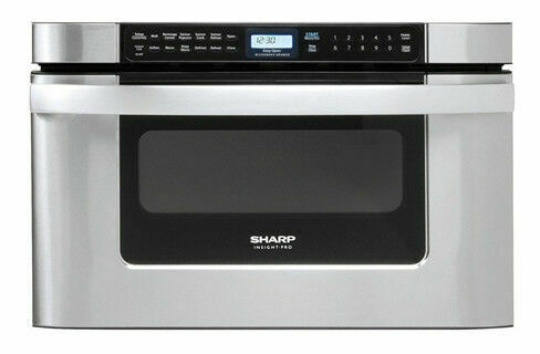 sharp kb6524ps 1000w built in microwave drawer oven for sale online ebay