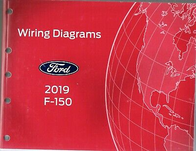 2019 ford f150 factory oem wiring diagram schematics fcs1433219  ebay