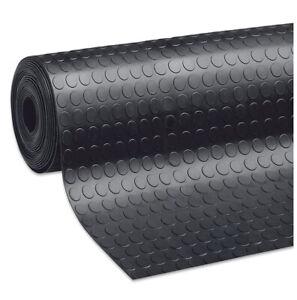 details sur tapis antiderapant caoutchouc noir robuste coureur revetements de sol bulles
