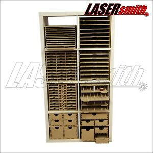 details zu ikea kallax storage solutions for craft crafters paper ribbon card decoupage etc