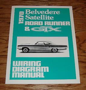 1970 Plymouth Belvedere Satellite Road Runner & GTX Wiring