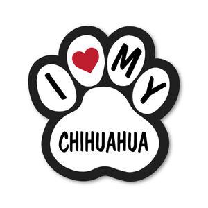 Download I LOVE MY CHIHUAHUA CAR VAN LORRY WALL VINYL SELF ADHESIVE ...