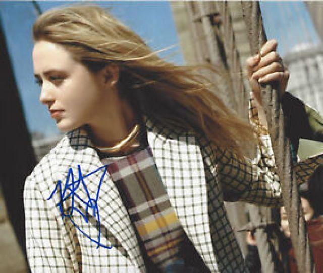 Kathryn Newton Signed Authentic Pokemon X Photo B W Coa
