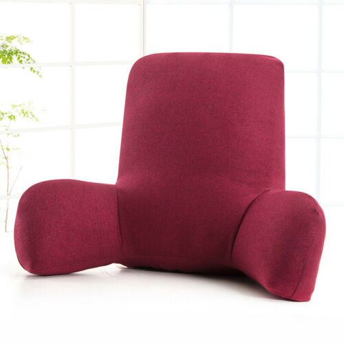 bedding office reading pillow back rest lumbar support arm seat lounger cushion backrest bed pillows