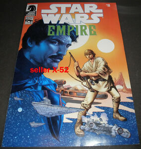 STAR WARS comic book EMPIRE # 8 CELEBRATION V exclusive pack in BIGGS LUKE