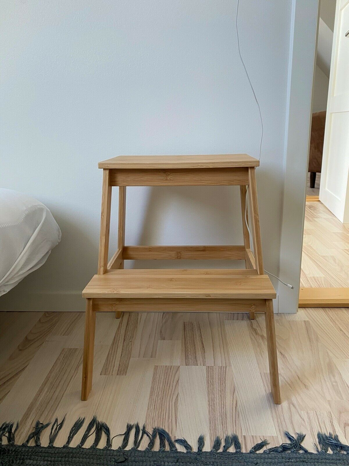 Tenhult Taburet Bambus Ikea