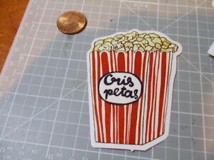 Popcorn Box Glossy Sticker Decal Bumper Laptop Sticker New Ebay
