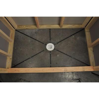 pre pitch installation kit custom pitch shower pan slope liner drain sub floor ebay