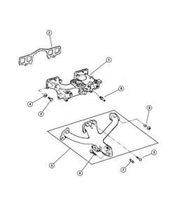 jeep wrangler 25 exhaust manifold