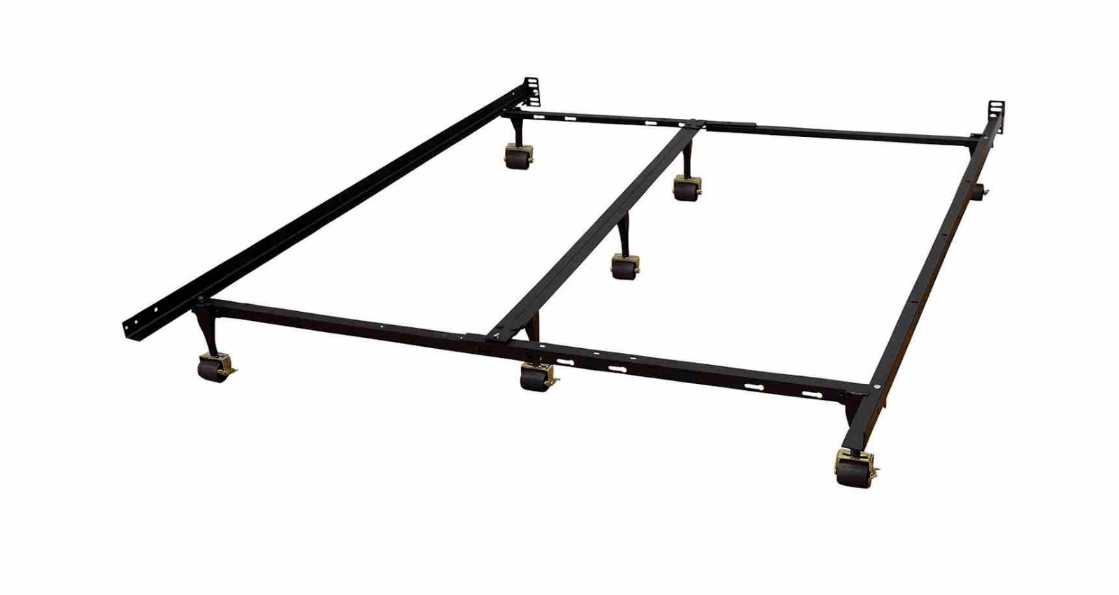 Metal Bed Frame For Box Spring Mattress Adjustable Twin