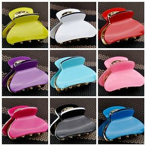 fashion girl women s cute hair clip claw b mixed color pick fs212 ebay