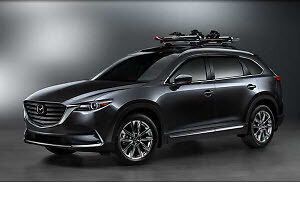details about 2016 2017 2018 2019 2020 2021 mazda cx9 roof rack cross bars oem new