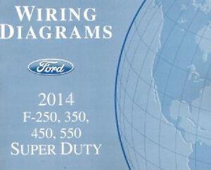 2014 Ford F250 F350 F450 F550 Factory Wiring Diagram