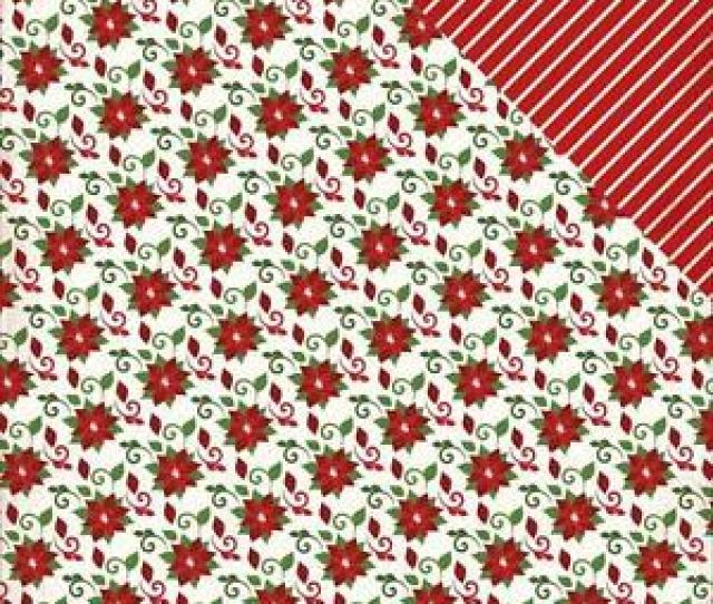 Image Is Loading Carta Bella Have A Merry Christmas  Poinsettias