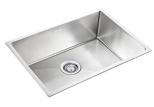 details about square small large handmade single bowl stainless steel undermount kitchen sink