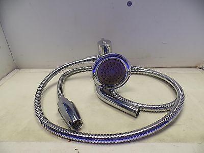 moen a112 18 1m rainshower head with hose chrome 3 4 connection ebay