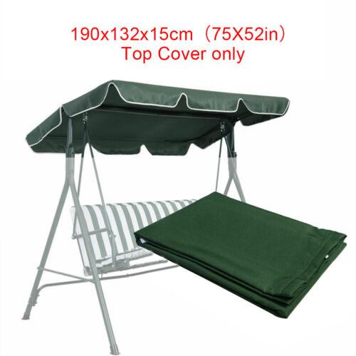 yard garden outdoor living patio swing canopy replacement top cover porch outdoor 76 x49 75 x52 98 x72 patio garden furniture