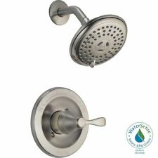 delta 142984c bn a porter single handle 3 spray shower faucet brushed nickel