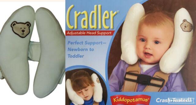 kiddopotamus cradler adjustable head support for newborn to toddler