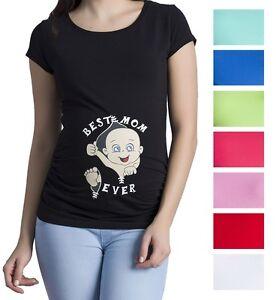 Witzige Susse Umstandsmode T Shirt Mit Motiv Schwangerschaft