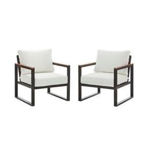 details about hampton bay west park black aluminum outdoor patio lounge chair with standard
