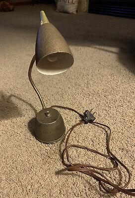 vintage eagle hi lite gooseneck wall or desk lamp ebay