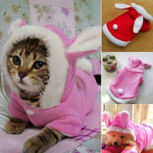 Easter Cute Small Pet Clothes Dog Cat Puppy Sweater Hoodies Coat Rabbit Costume