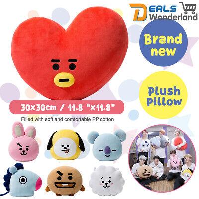 plush pillow doll cushion toy for bts bt21 tata shooky rj koya chimmy cooky mang ebay